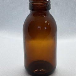 בקבוקי זכוכית חומים 28