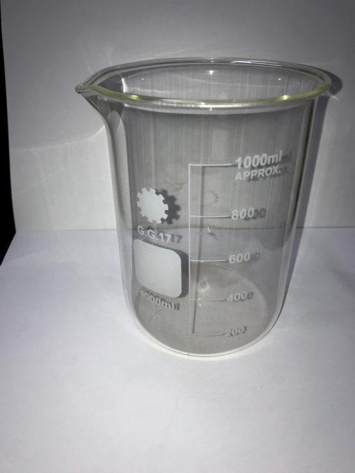 כלי מדידה מזכוכית לנוזלים 1000