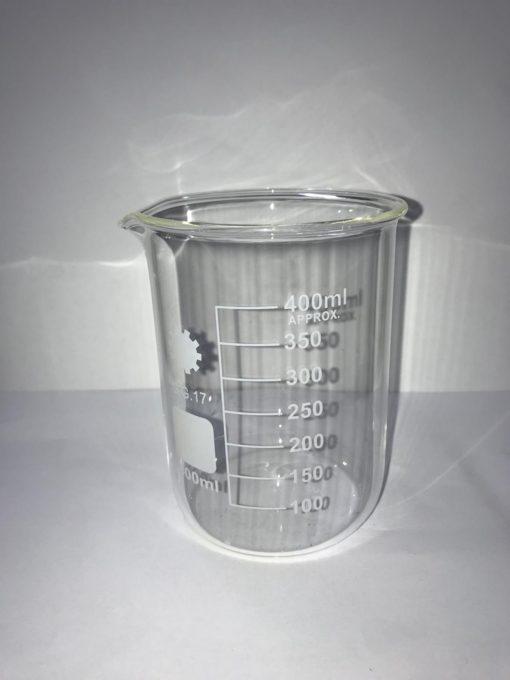 כלי מדידה מזכוכית לנוזלים 400